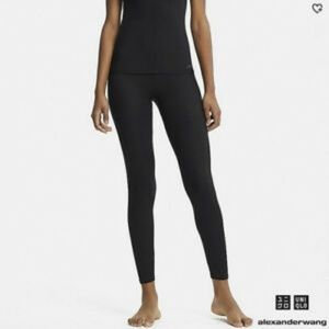 Uniqlo Alexander Wang Heat tech Black leggings NWT